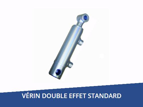 Vérin hydraulique double effet standard